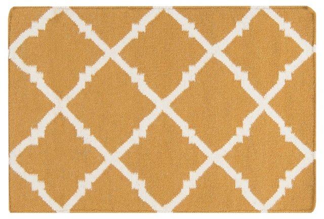 2'x3' Athena Flat-Weave Rug, Cumin