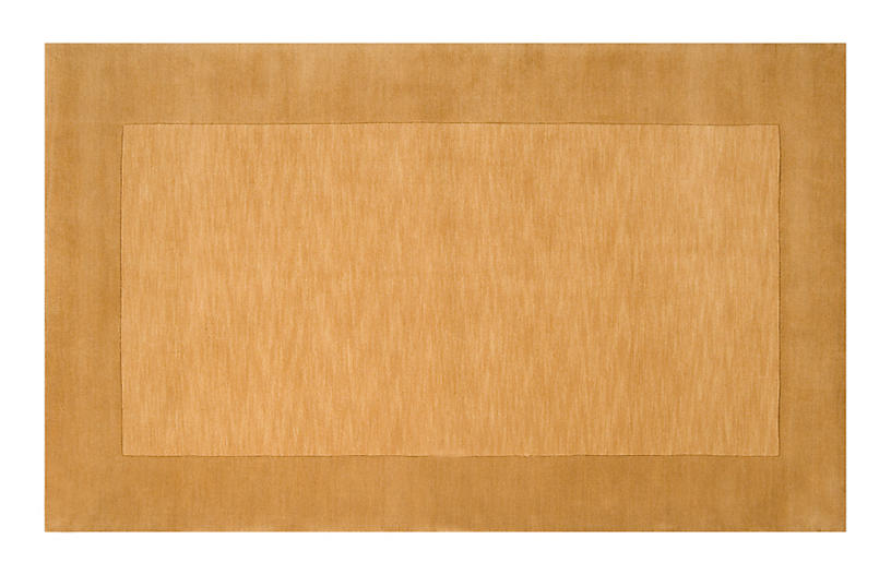 Lombard Rug, Dark Goldenrod