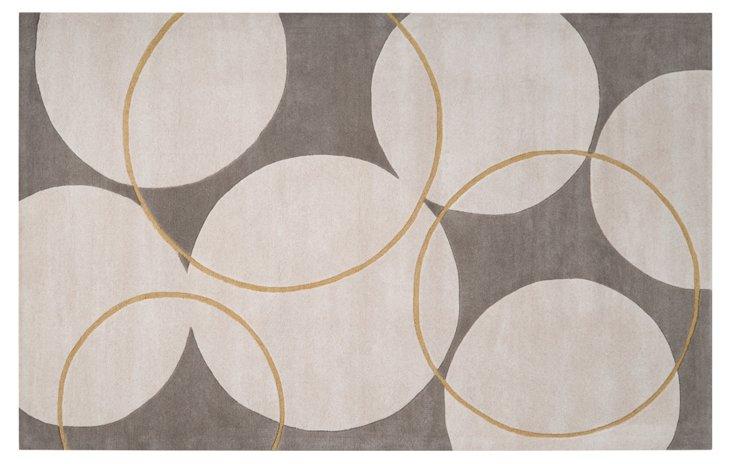 Cotillard Rug, Gray/Ivory