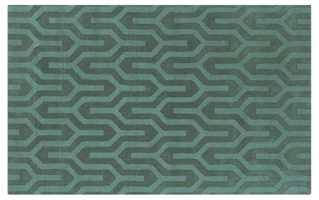 Dallas Rug, Teal