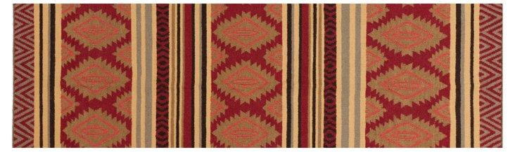 Hades Flat-Weave Rug, Redwood