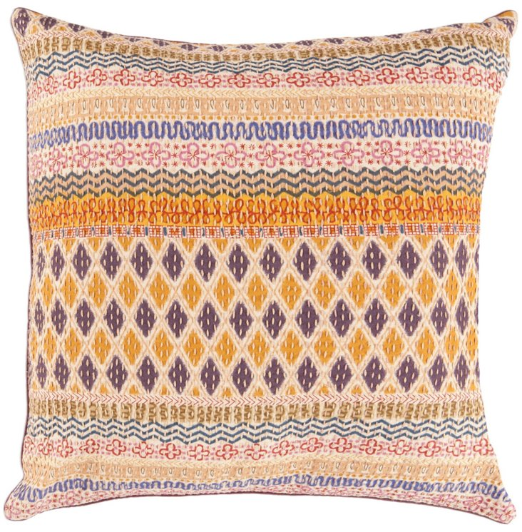 Meha 18x18 Pillow, Multi