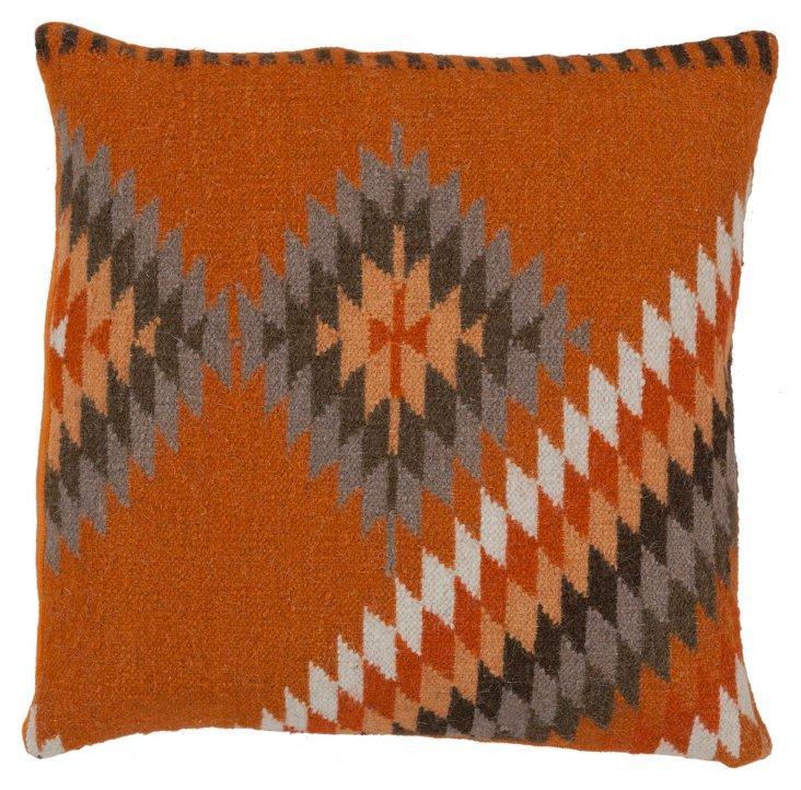 Zaynah Linen Pillow, Multi