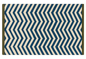 Albany Outdoor Rug, Teal