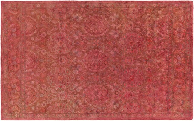 2'x3' Marcella Rug, Red
