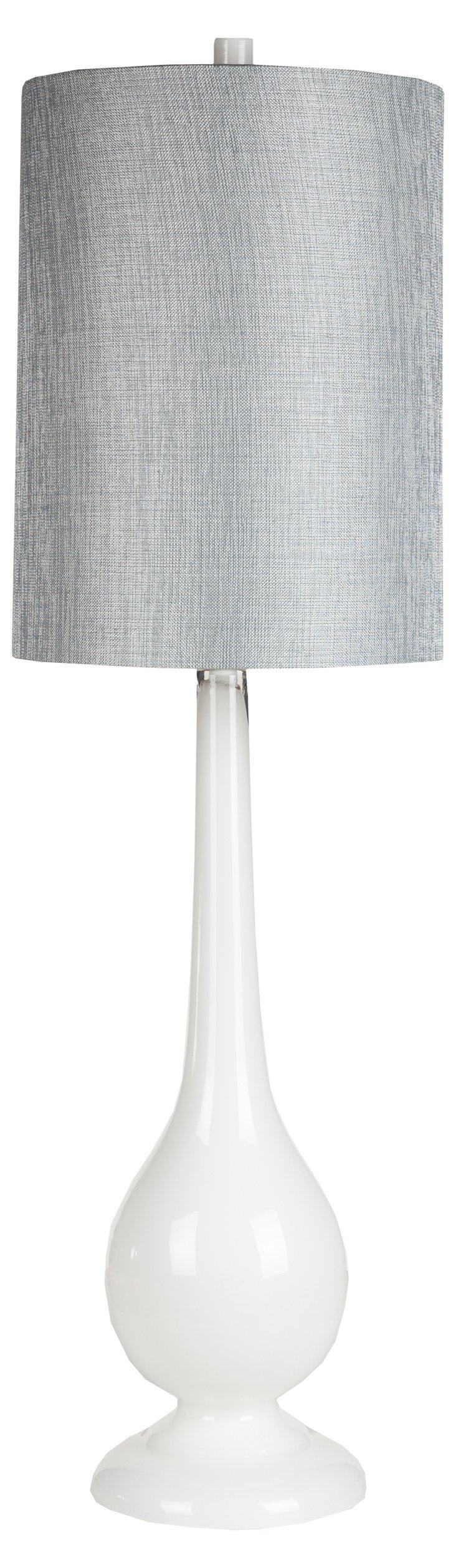 Retro-Inspired Lamp, Milk