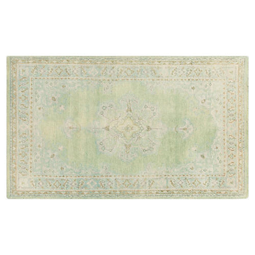 Mercer Rug, Neutral/Green