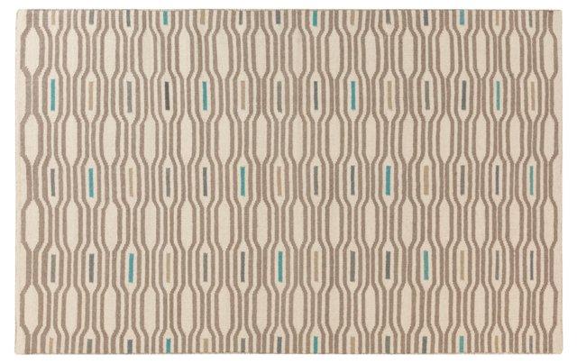 Nostrand Flat-Weave Rug, Ivory