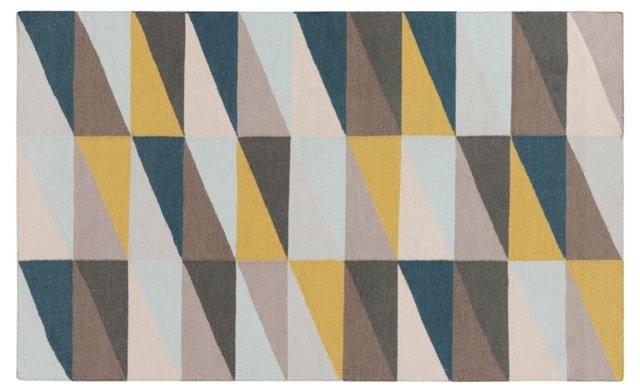 Eve Flat-Weave Rug, Multi