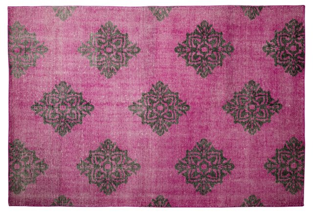 Zana Flat-Weave Rug, Violet