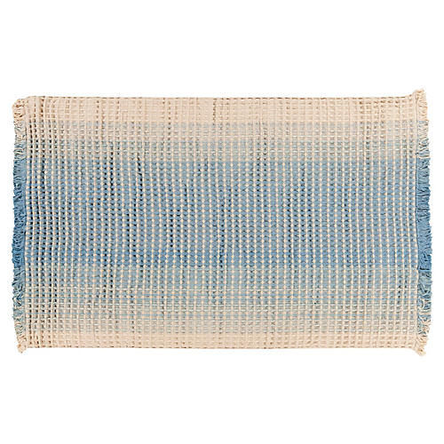 Rochelle Rug, Neutral/Blue