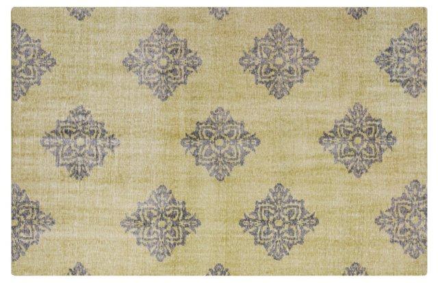 Zana Flat-Weave Rug, Green