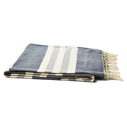 Madeline Striped Throw