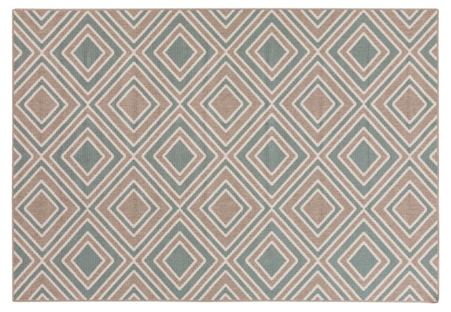 Scotch Outdoor Rug, Green