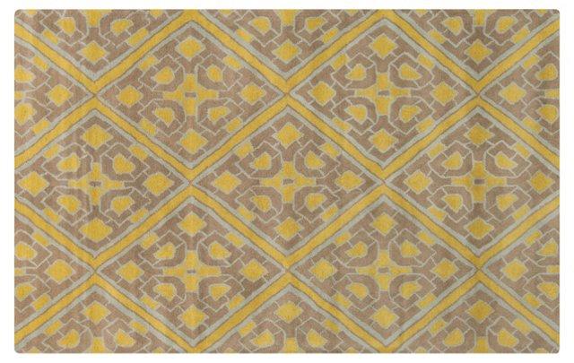 Pelham Rug, Neutral/Yellow