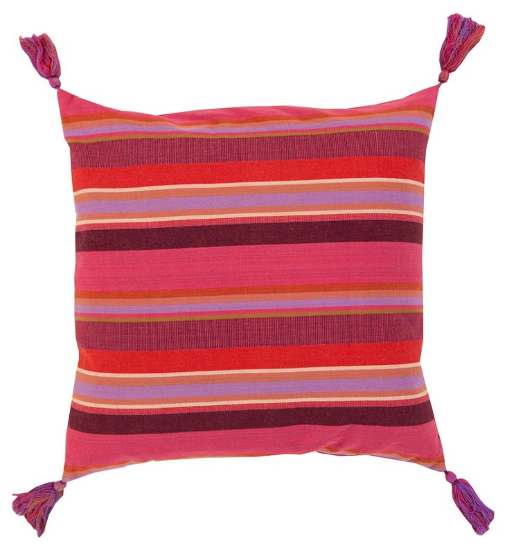Valentine Cotton Pillow, Multi