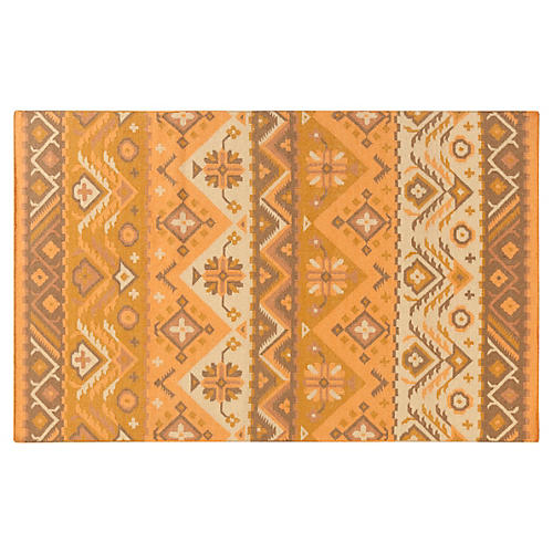 Amara Kids' Rug, Papaya