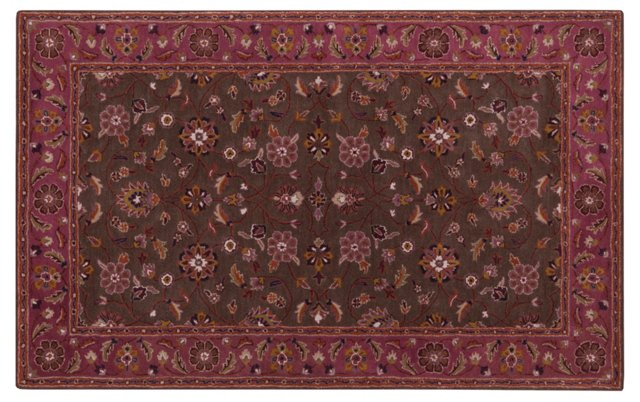 Fable Rug, Red/Violet