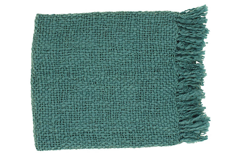 Reese Throw, Teal