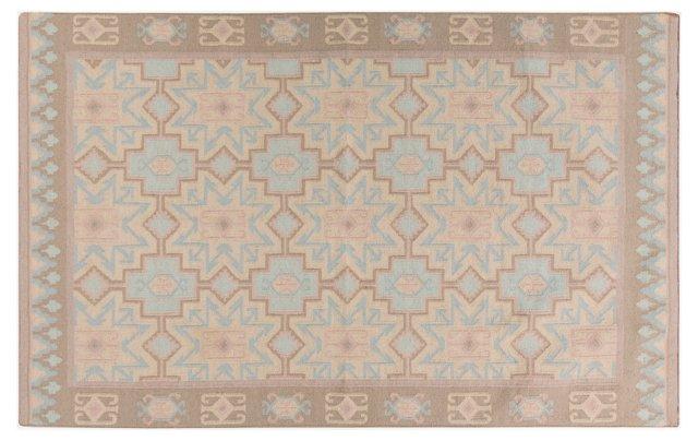 Nadia Flat-Weave Rug, Blue