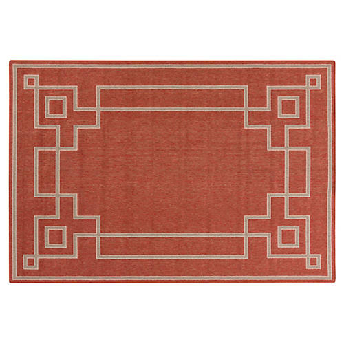 Richmond Outdoor Rug, Red