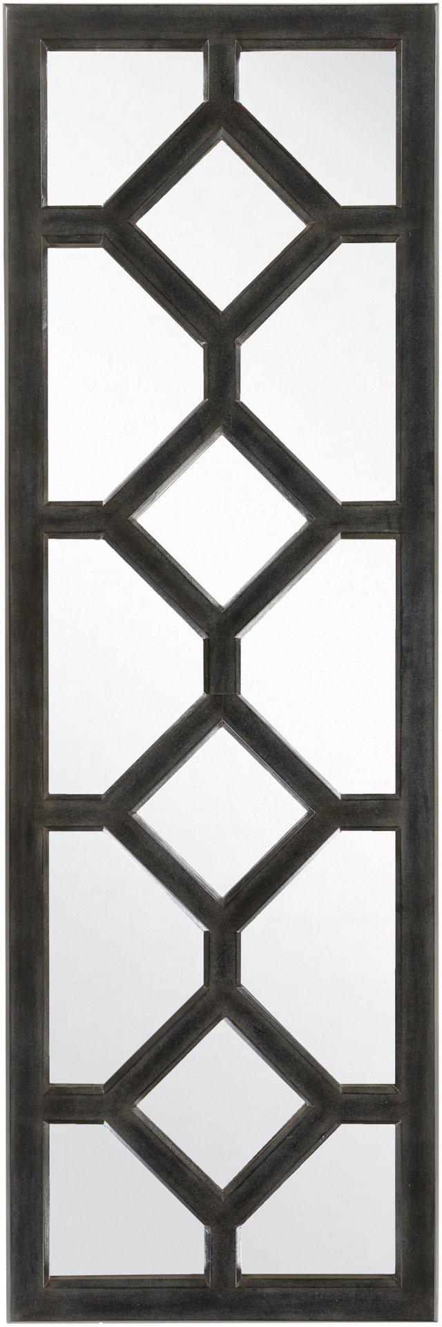 Metro Floor Mirror, Black