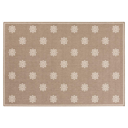 Clifton Outdoor Rug, Neutral