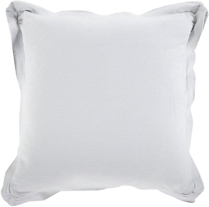 Ventura Cotton Pillow, Gray