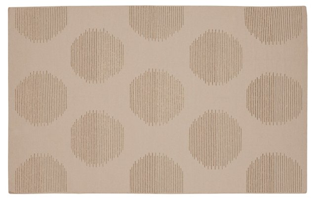 Niobe Rug, Neutral/Green
