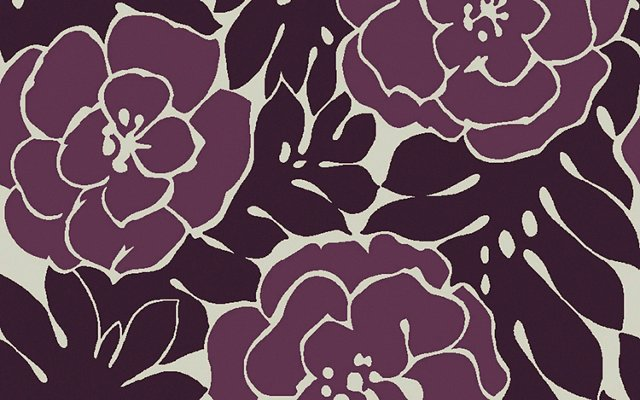 Franklin Flat-Weave Rug, Purple