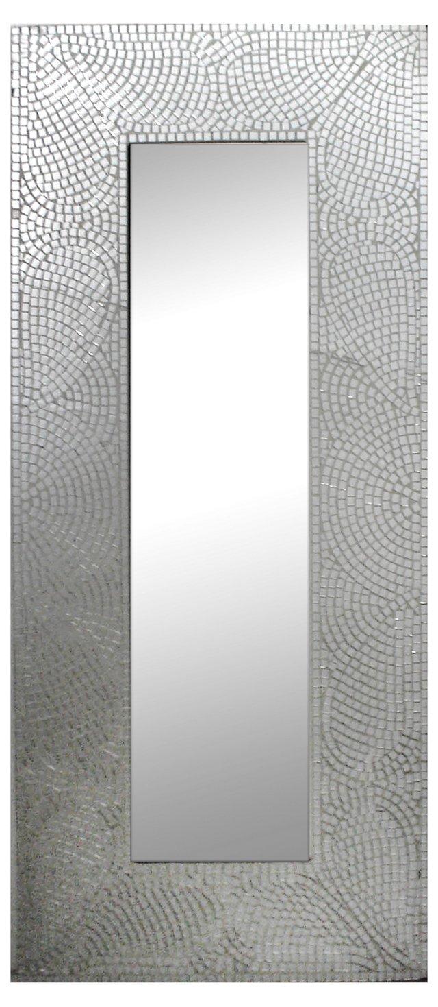Jessica Oversize Mirror, Silver