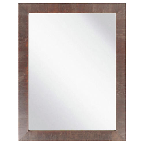 "Amir 37""x47"" Wall Mirror, Natural"