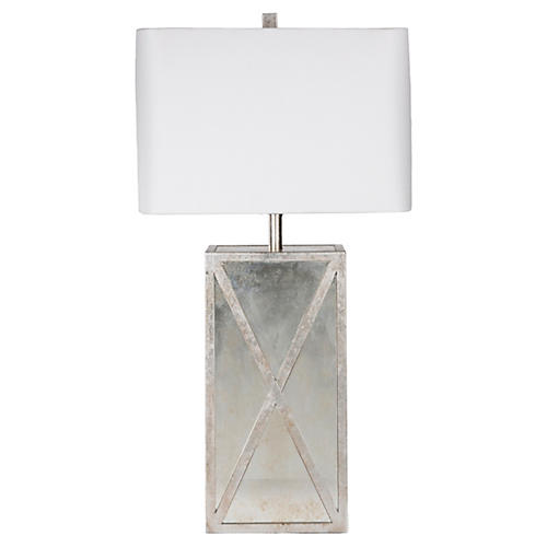 Jack Table Lamp, Silver