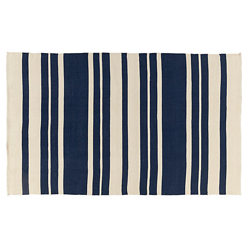 Biddy Outdoor Rug, Navy
