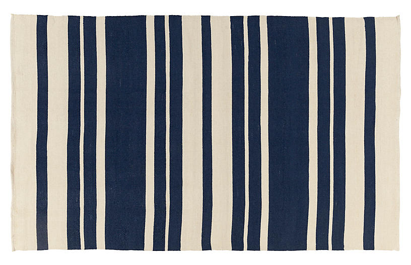 Biddy Outdoor Rug Navy Outdoor Rugs Rugs One Kings Lane