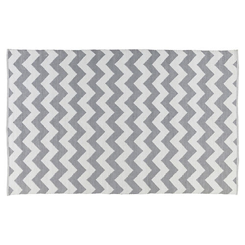 Case Outdoor Rug, Gray