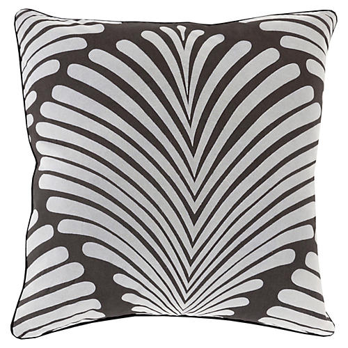 Hortense Cotton Pillow, Ivory