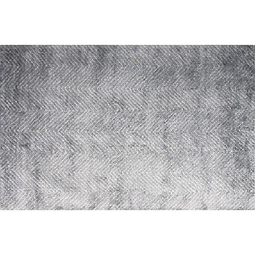 Quartz Flat-Weave Rug, Blue