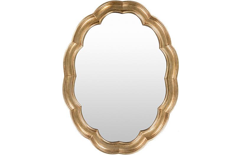 Opulent Mirror, Gold