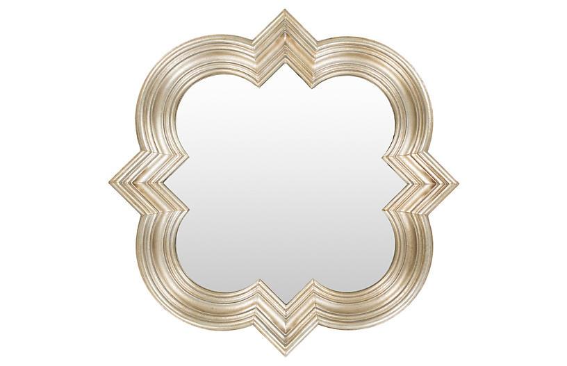 Bella Wall Mirror, Gold