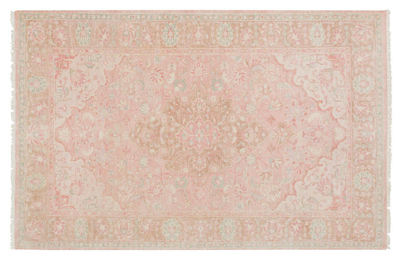 Scott Rug, Tan/Salmon