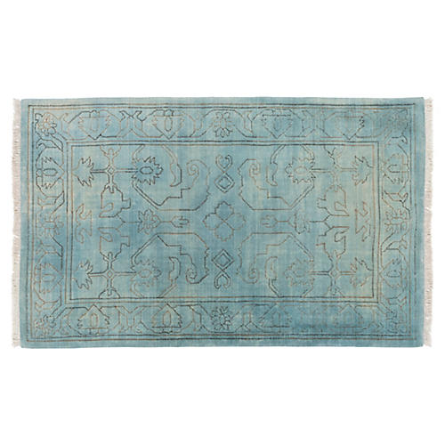 Ridgely Rug, Slate/Light Gray
