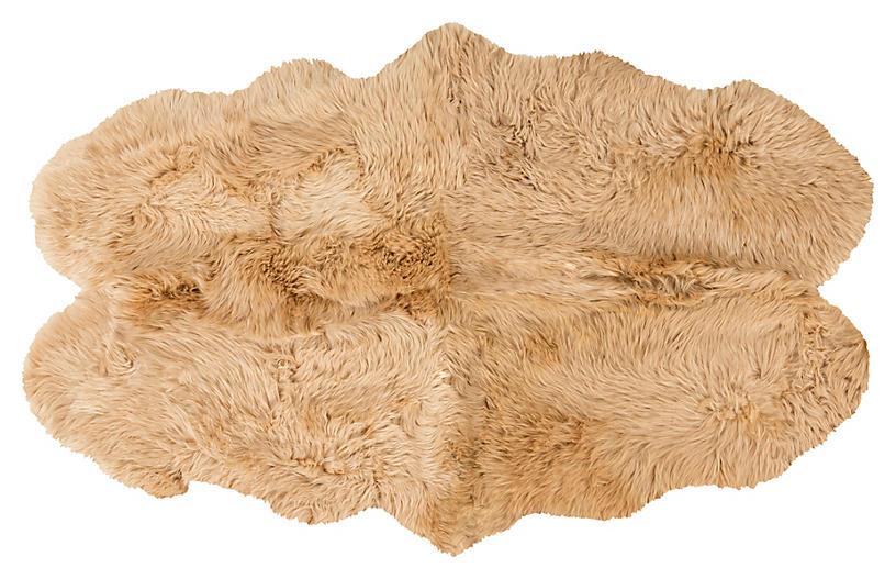 Sheepskin Rug, Beige