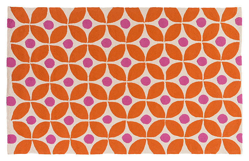 Hendry Outdoor Rug - Terracotta