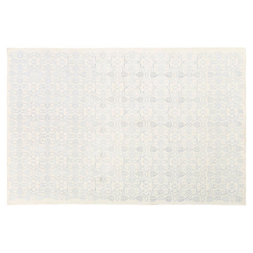 Arnie Rug, Pale Blue/Cream