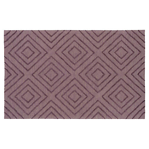 Jaime Rug, Dark Purple/Taupe