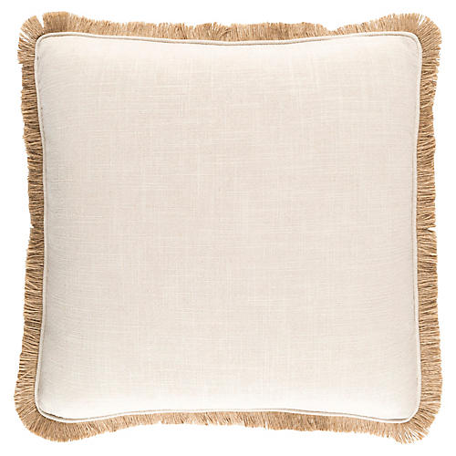 Ellery Pillow, Beige/Tan