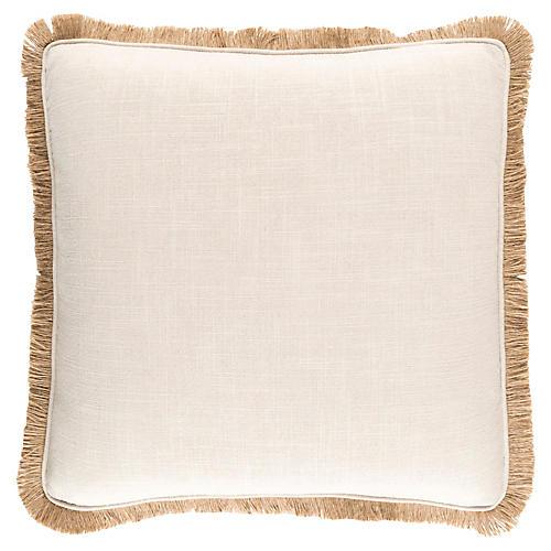 Ellery Decorative Pillow, Beige/Tan