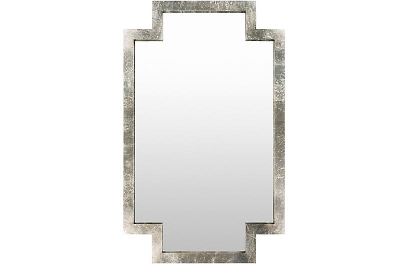 Dayton Wall Mirror, Silver
