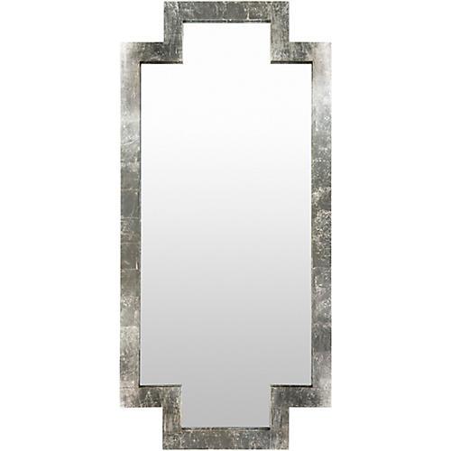 "Dayton 35""x75"" Floor Mirror, Silver"